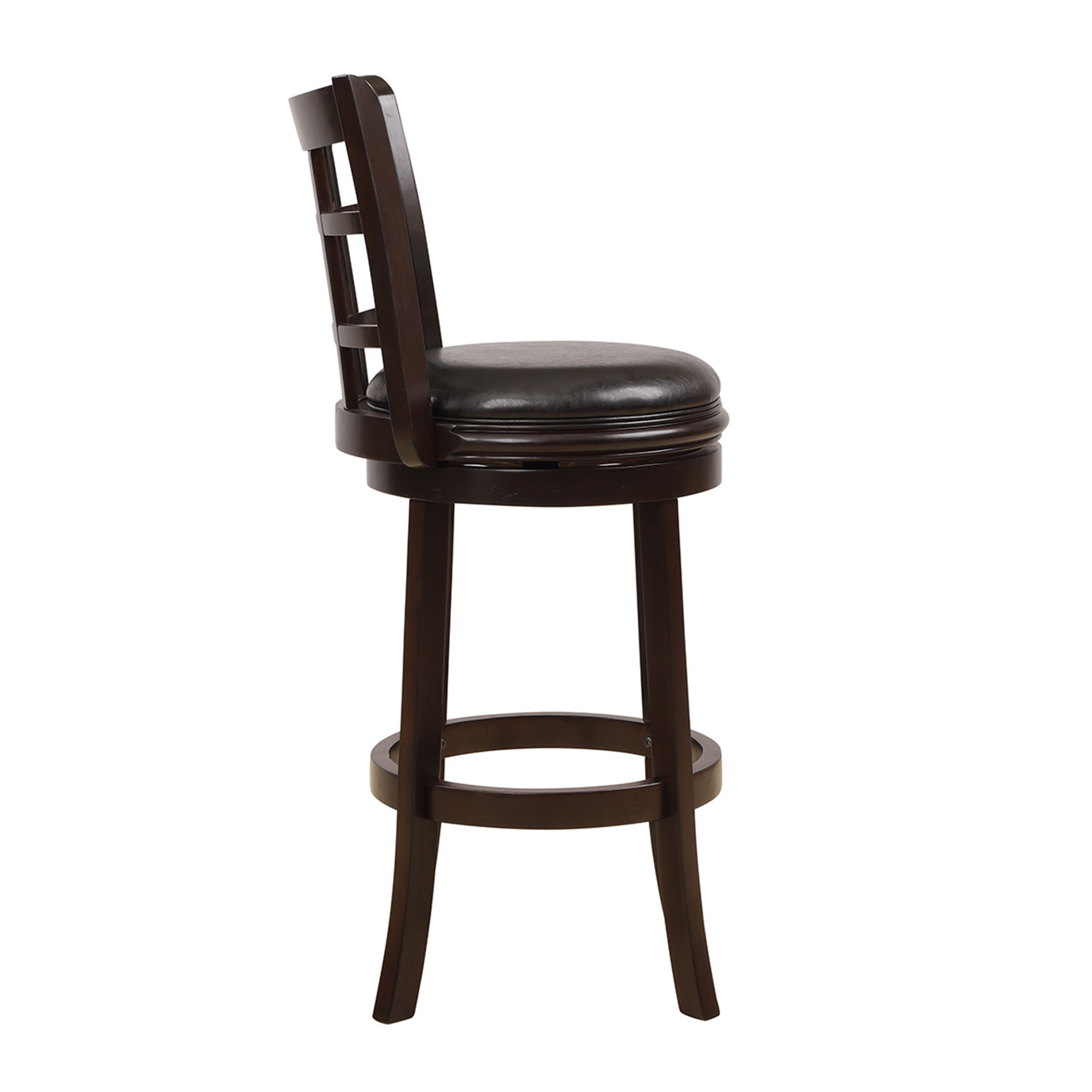 Traditional Stationary Swivel Counter Height Bar Stool